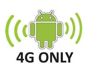 Cara Merubah sinyal 3G ke 4G Only untuk Semua Android
