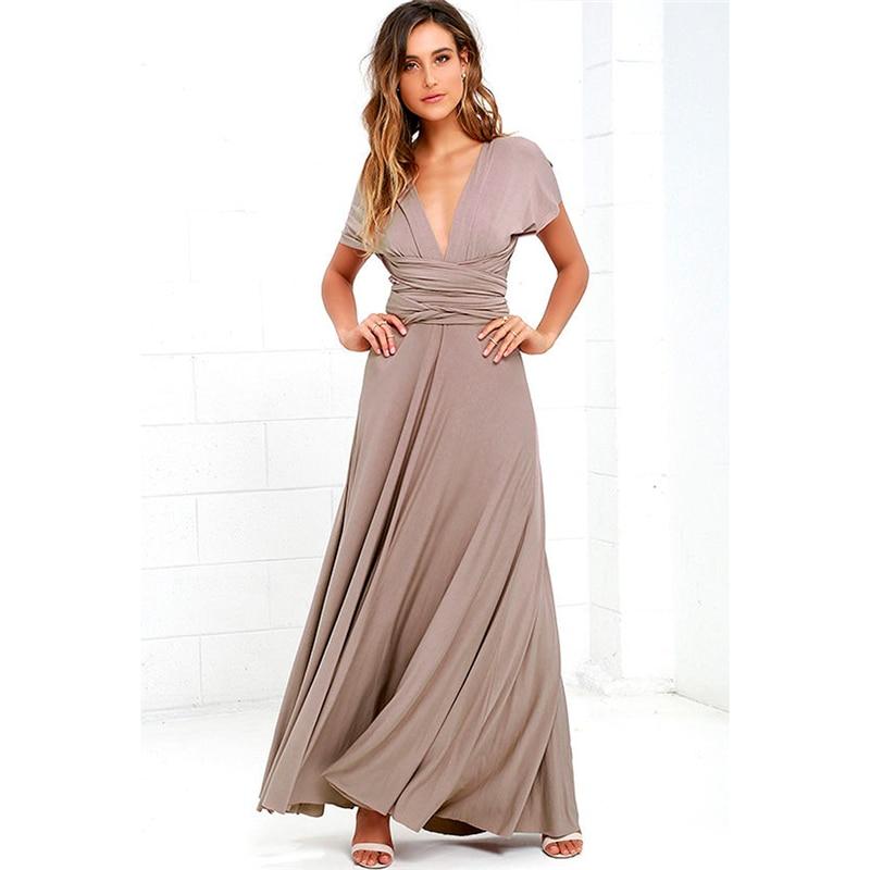 6a30d1dada769 Best Dress Women 2018 Long Summer Convertible Bohemian Dresses ...