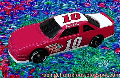 Steve Boley #10 Ingram Racing Chevrolet 1992 Racing Champions 1/64 NASCAR diecast blog BGN Busch