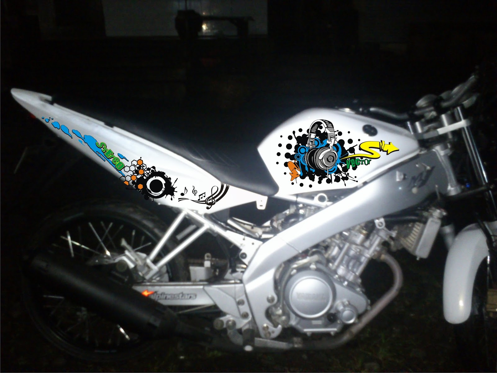 4300 Gambar Cutting Sticker Vixion Old HD