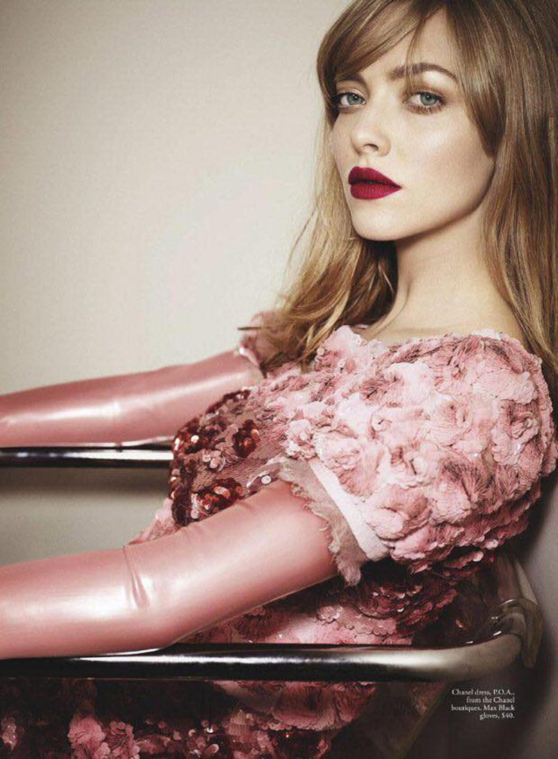 Amanda Seyfried on Vogue Australia February 2017 Cover by Emma Summerton