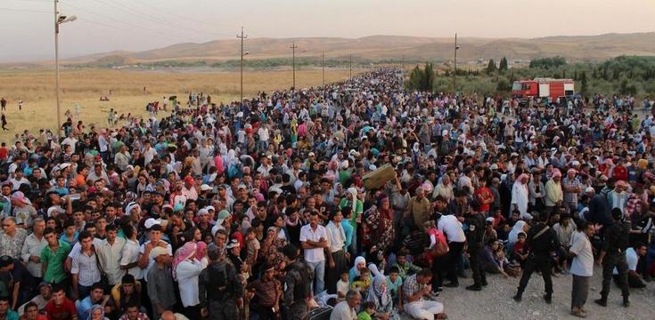 Flyktingkris i topp i nervigt fn