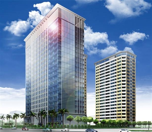 Phối cảnh dự án Vinata Towers