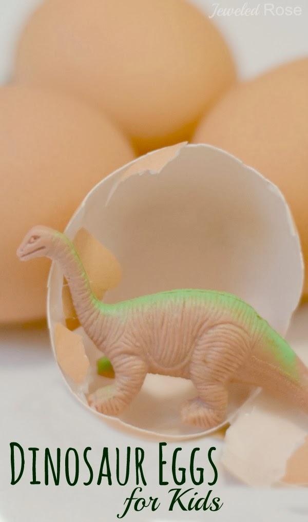 DIY Dinosaur Eggs for Kids   Growing A Jeweled Rose   Bloglovin'