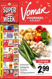 Vomar Folder Week 33, 12 – 18 Augustus 2018
