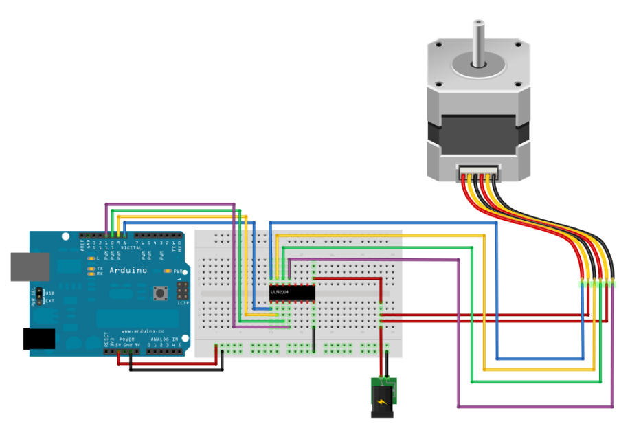 Lab: Controlling a Stepper Motor With an H-Bridge ITP