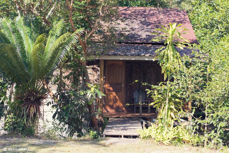 Thailand Insel Holzhütte