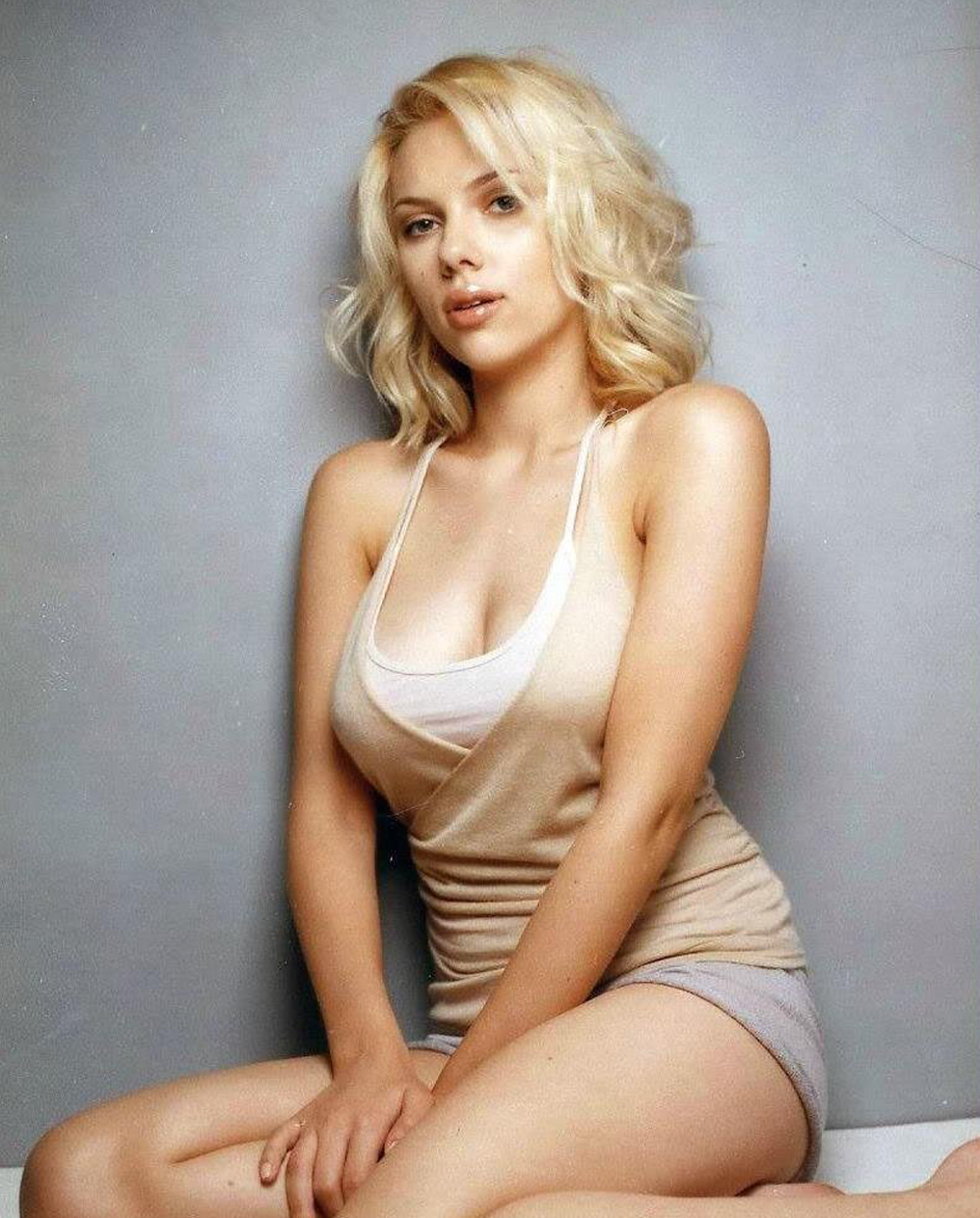 scarlett johansson model - photo #4