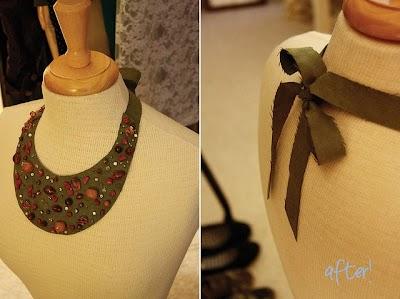 Como hacer una Gargantilla-Collar de Fieltro