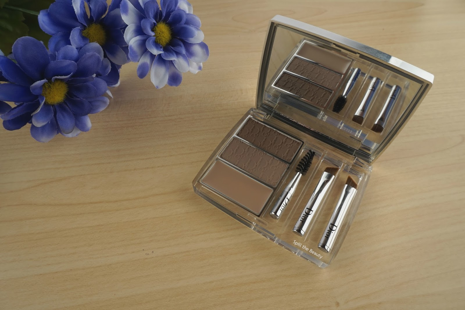 Diorshow All-In-Brow 3D Palette 'Blonde' – Review, Swatches, Before & After