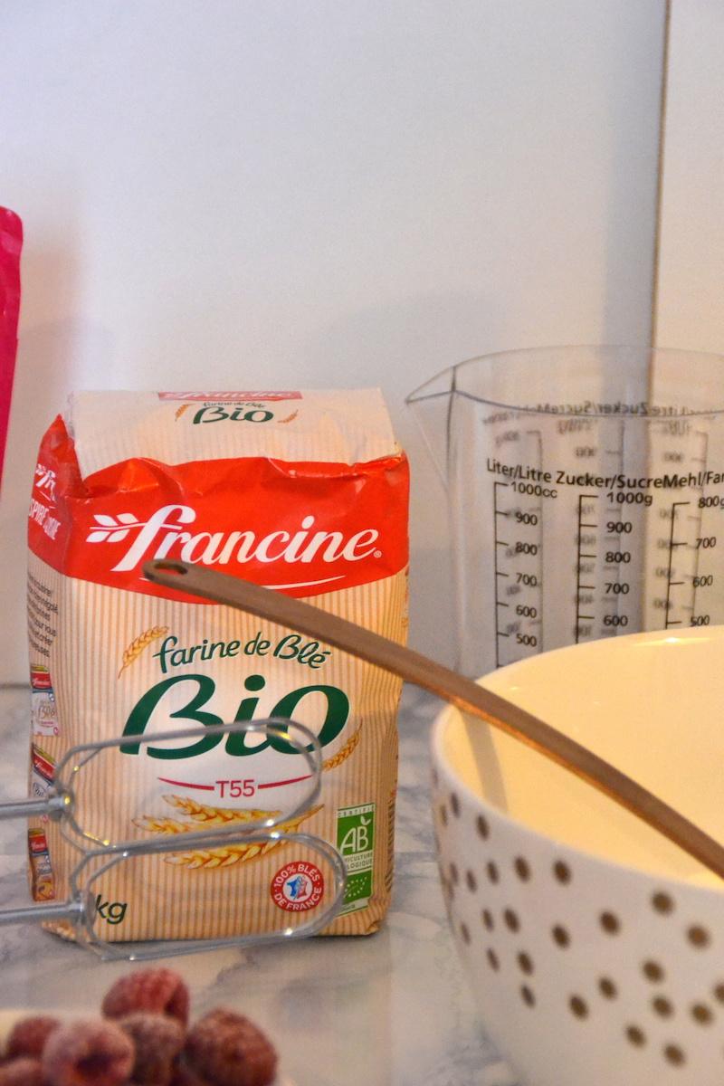 farine de blé pour faire des crêpes