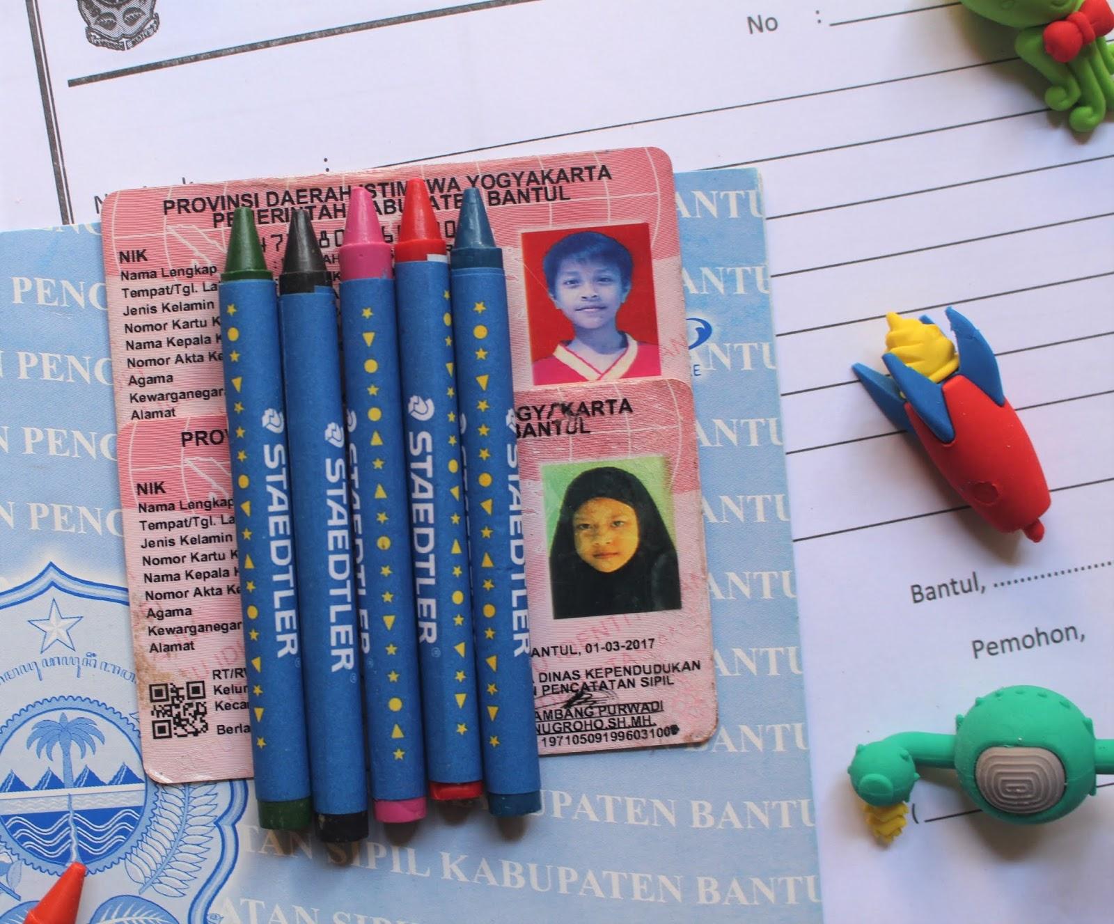 Membuat Kartu KIA Untuk Anak - Catatan Emak