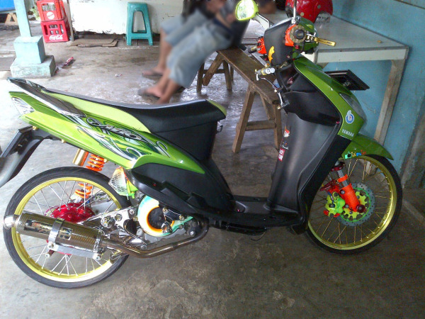 Modifikasi Motor Mio Soul 2010