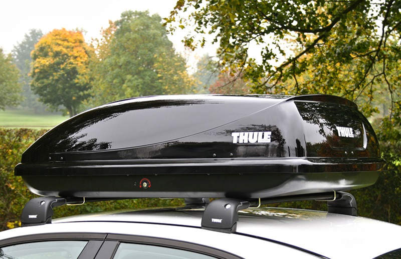 review thule ocean 100 roof box the test pit. Black Bedroom Furniture Sets. Home Design Ideas