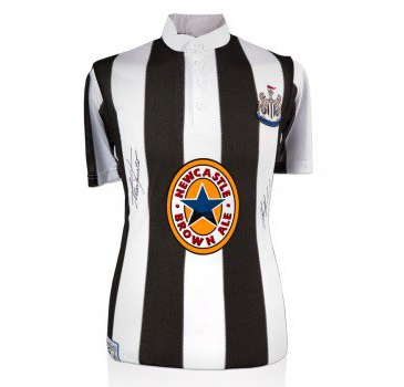 10 Father's Day Gift Ideas with a North East Twist - Signed Newcastle Shirt