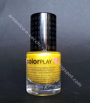 Debby smalto ColorPlay #75 Shocking Yellow