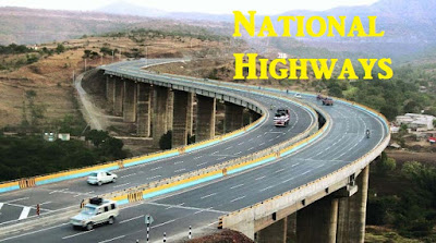 National Highways | Questions asked in CDS, AFCAT, NDA Exams