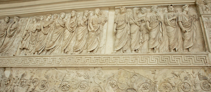 Tomatoes From Canada: Ara Pacis (Altar of Peace)