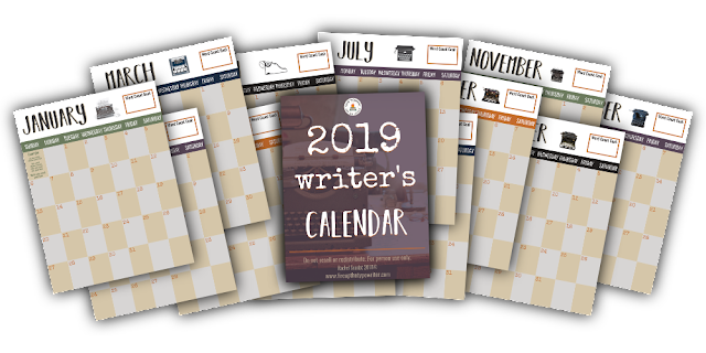 How to Hit Refresh on Your Writing Life in 2019 | www.fireupthetypewriter.com #2019 #WritingGoals #Refresh #WritingLife