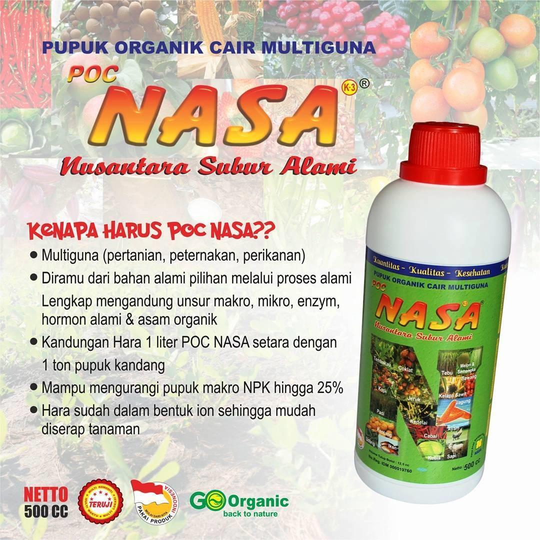 Pupuk organik cair multifungsi POCNASA