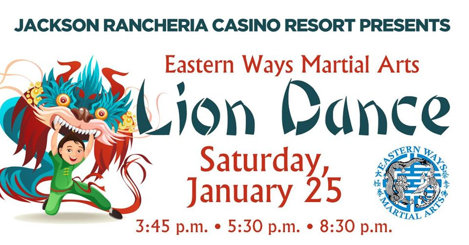 "Eastern Ways Martial Arts ""Lion Dance"" - Sat Jan 25"