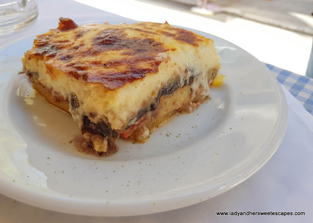 Moussaka in Plaka