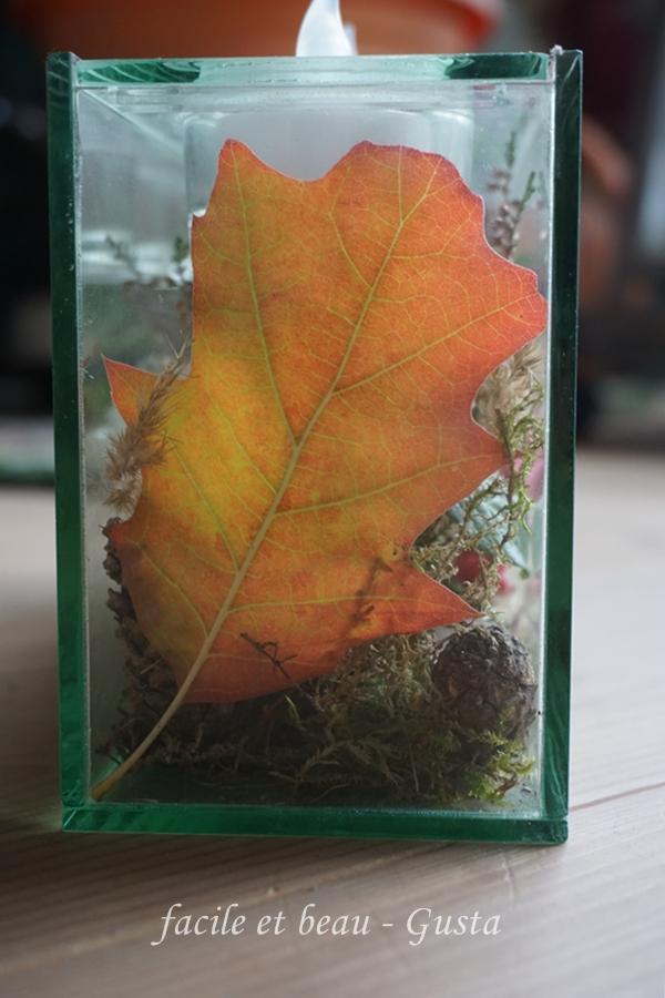 Facile et beau gusta herbstdeko im glas for Herbstdeko im glas