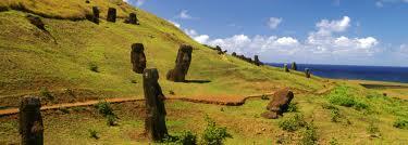 L'île de Pâques: terrain d'affrontement pour deux théories
