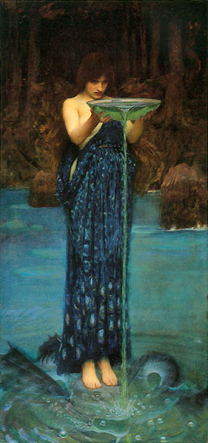 circe invidiosa 1891 circe water house water witch water magic water scrying water divination