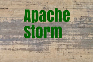 Apache Storm topologies