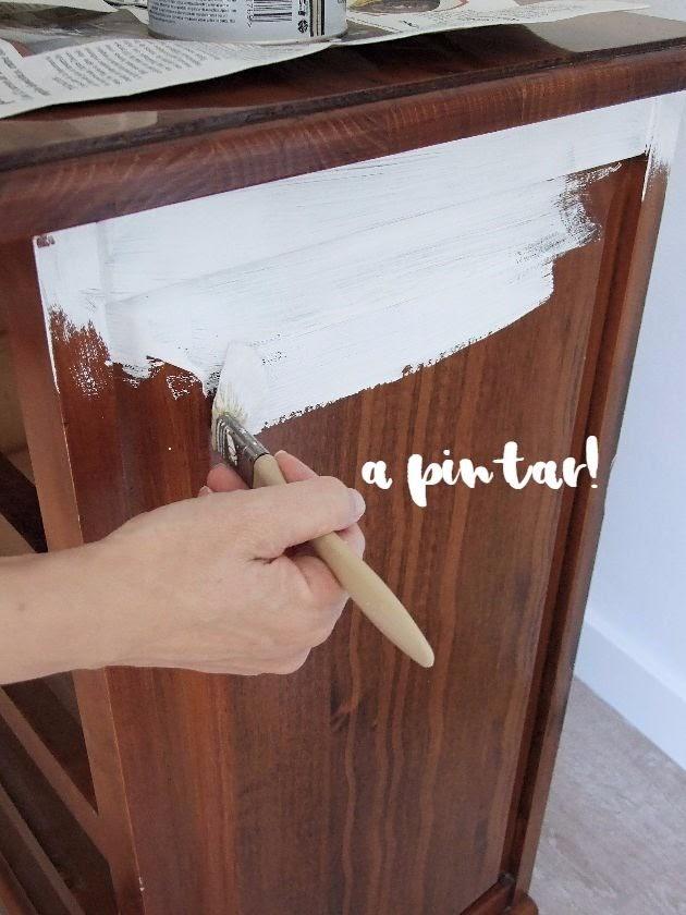 restaurar con pintura a la tiza
