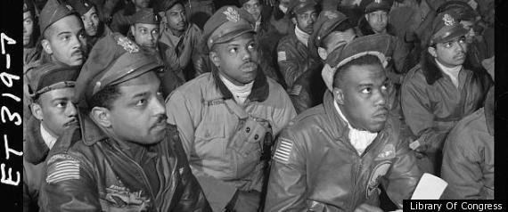 American News Broadcasting Tuskegee Airmen Honored At