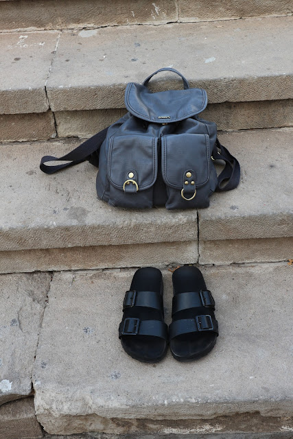 Fashion blogger, birken, misako, bag, shoes