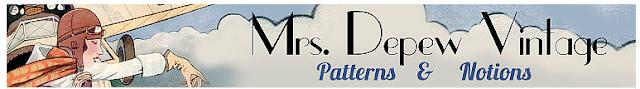 Mrs Depew banner