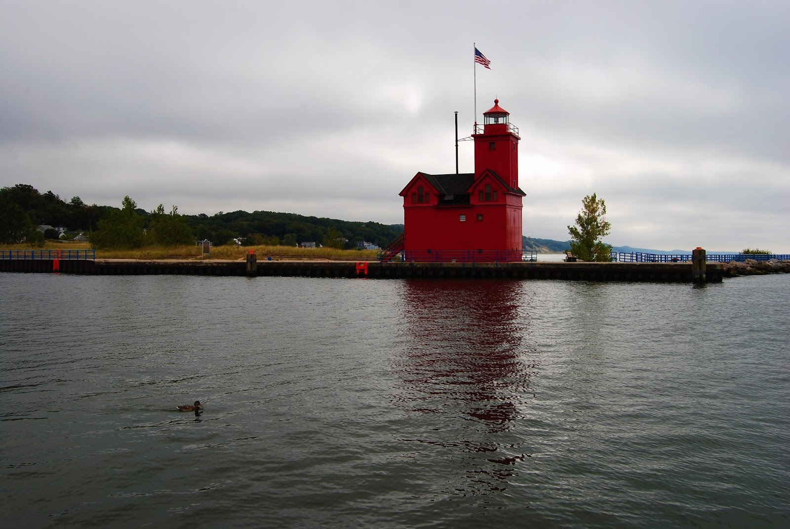 Holland Harbor Lighthouse, Holland, Michigan 9/18/2017 Dwm Photo