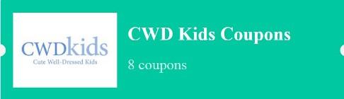 2018 latest cwdkids coupon sales