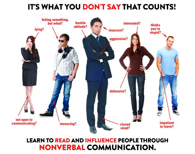 using nonverbal skills disadvantages of nonverbal communication