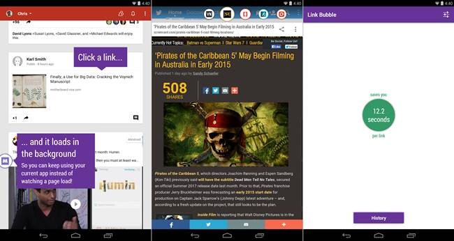 Download Link Bubble Pro APK Browser Berjalan di Latar Belakang
