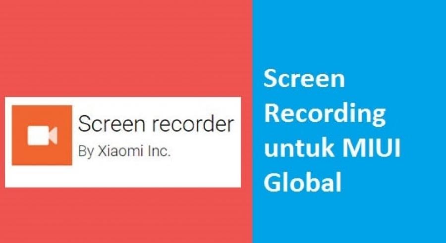 Cara Rekam Layar dan Audio Internal di Pocophone F1 No Root 100% Work