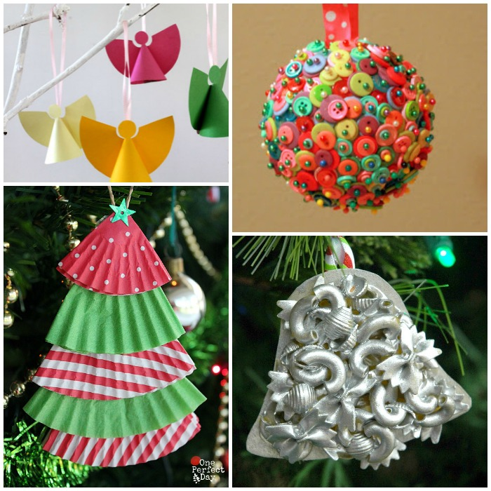 Alphabet Of Christmas Ornament Crafts For Preschool Kids Mini Paper Angels From The Craft Train
