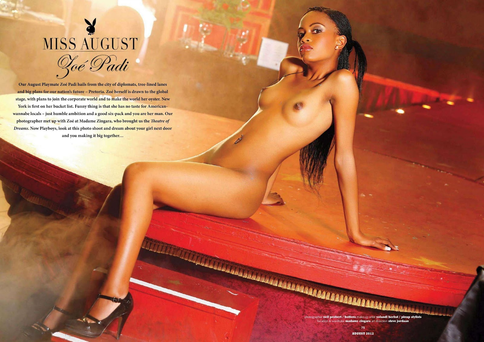 Playboy South Africa Nude Pics