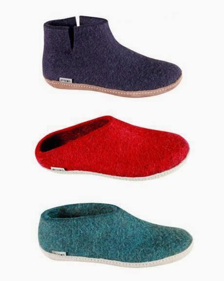 Glerups felt shoes