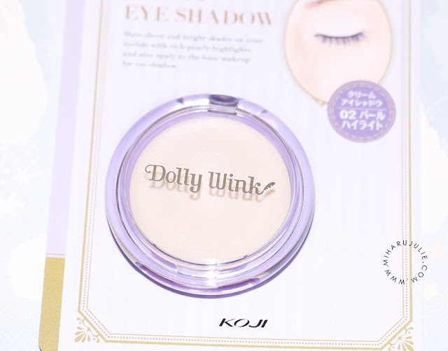 Dolly Wink Cream Eyeshadow Review
