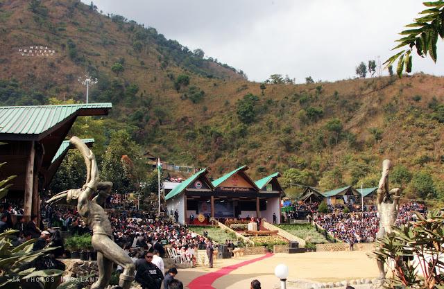 hornbill festival nagaland arena venue kisama naga heritage village