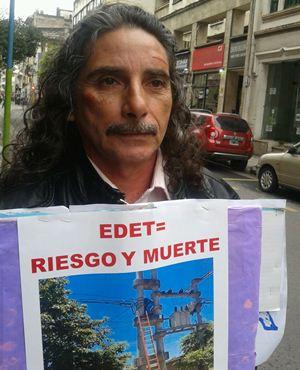 """Ernesto Paz: """"Nos agreden porque nos quieren callar, algo que no vamos a hacer"""""""