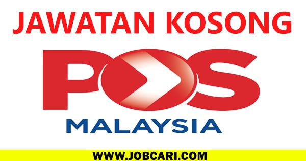 JAWATAN KOSONG POS MALAYSIA 2016