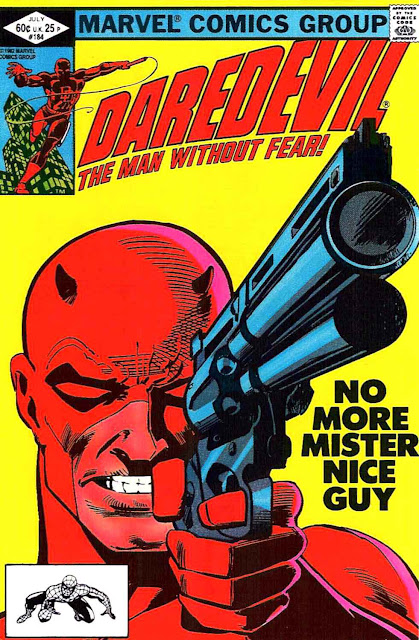 Daredevil v1 #184 marvel comic book cover art by Frank Miller