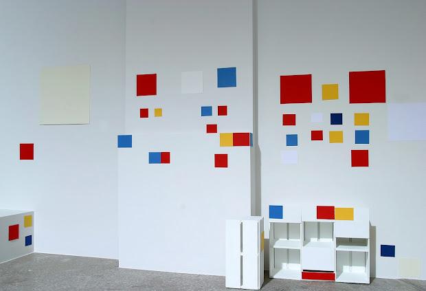 David Alker Peter Liddell Projects Mondrian' Studio