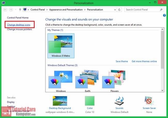 Trik Cara Menghilangkan Icon Recycle Bin dari Desktop