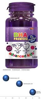 Pareri DHA Premium CosmoPharm capsule omega 3 ulei de peste